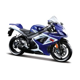 Maisto Suzuki GSX-R 750 blau/weiß