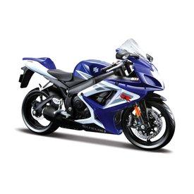 Maisto Suzuki GSX-R 750 blue/white - Model motorcycle 1:12