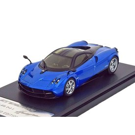 Welly Pagani Huayra 2013 blue/black - Model car 1:43