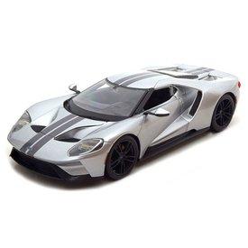 Maisto Ford GT 2017 silver - Model car 1:18