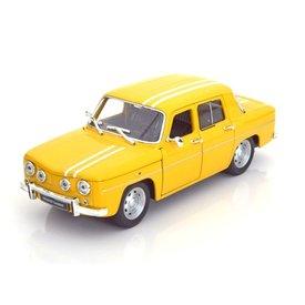 Welly Renault 8 Gordini 1964 yellow - Model car 1:24