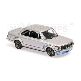 Maxichamps BMW 2002 Turbo 1973 silver 1:43