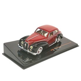Ixo Models Hotchkiss Anjou 1951 red/black - Model car 1:43