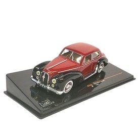 Ixo Models Hotchkiss Anjou 1951 rot/schwarz - Modellauto 1:43