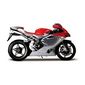 Maisto MV Agusta F4 2012 red/silver - Model motorcycle1:12
