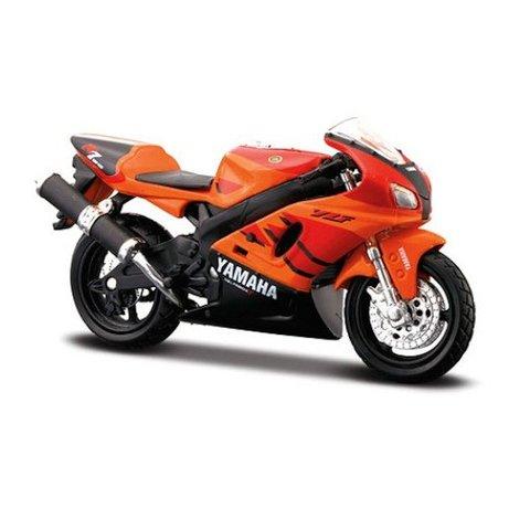 Yamaha YZF-R7 orange/schwarz, Modell-Motorrad 1:18