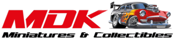MDK Miniatures & Collectibles - Model cars & more