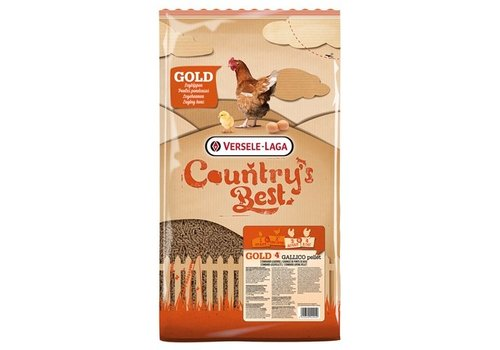 Versele Laga Country's best gold 4 pelletlegkorrel 5KG