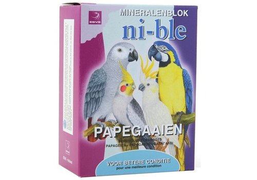 ESVE Ni-ble mineralenblok papegaai