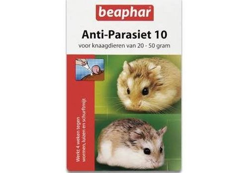 Beaphar Anti-parasiet knaagdier