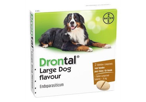 Bayer Drontal ontworming hond Large