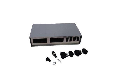 MS Broedmachines Inbouwkastje voor digitale thermostaat en hygrostaat