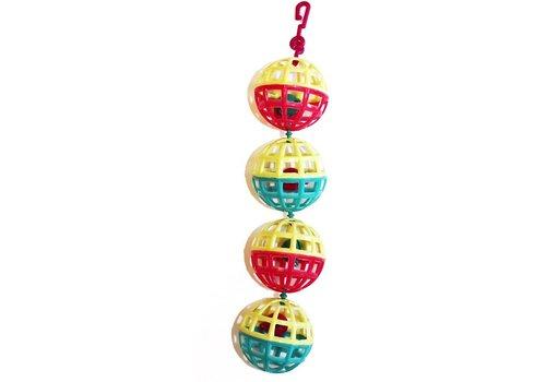 The Bird House Multi ball toy