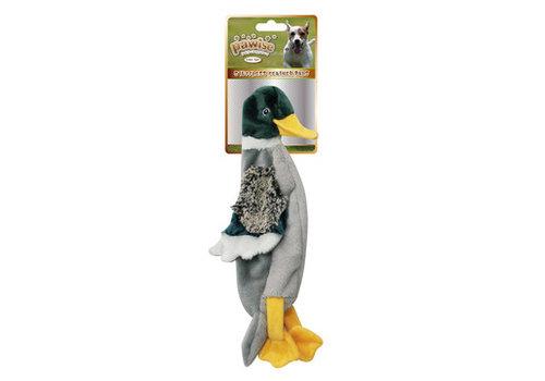 Pawise Stuffless Duck hondenknuffel