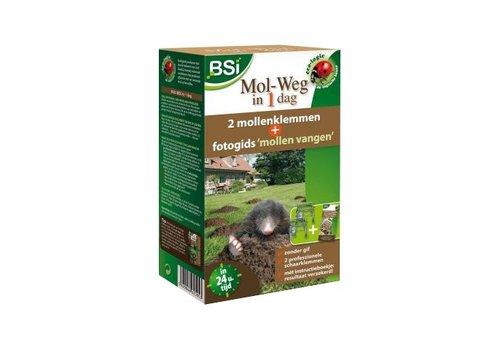 BSI Mol-Weg in 1 Dag mollenklemmen
