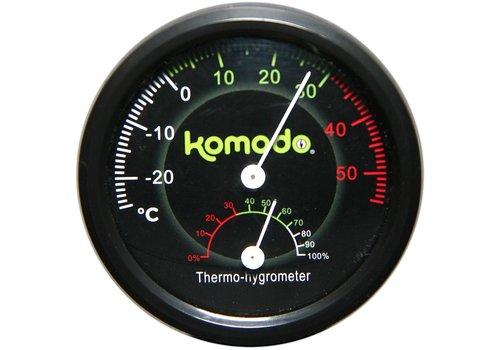 Komodo Analoge thermometer & hygrometer