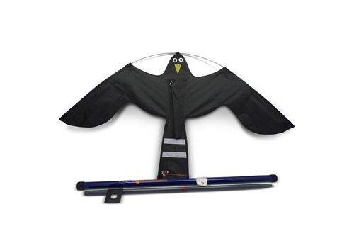 Ketrop Black Hawk Kite vogelverschrikker 7 meter