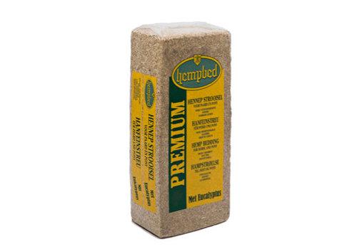Hempbed hennepstrooisel met eucalyptus 15 kg