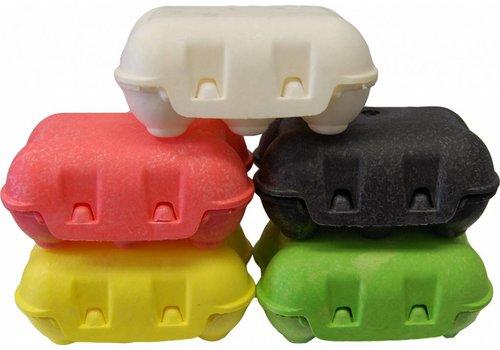JUNAI Gekleurde kwartelei eierdozen voor 6 eitjes