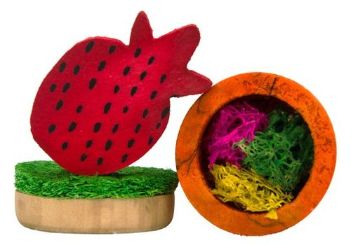 Pawise Wood'n Loofah Pretty Toys