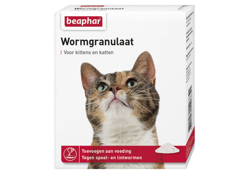 Beaphar Wormgranulaat voor katten