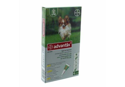Bayer Advantix Spot on hond 6 pipetten