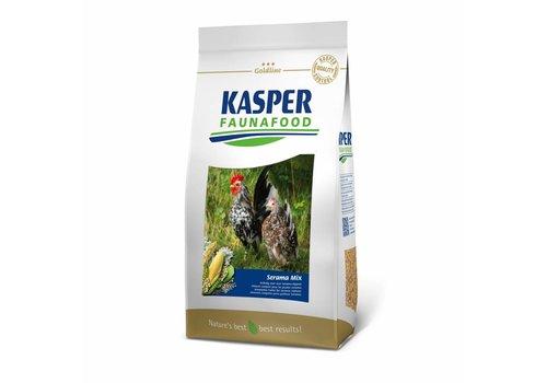 Kasper faunafood Gallus Multimix voor o.a. Serama's
