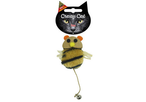 Crazy Cat Bee met catnip