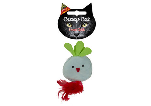 Crazy Cat Sweet Chick met catnip