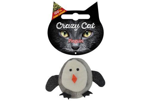 Crazy Cat Penguin met catnip