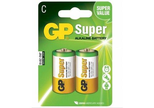 GP C Alkaline batterijen 2 stuks
