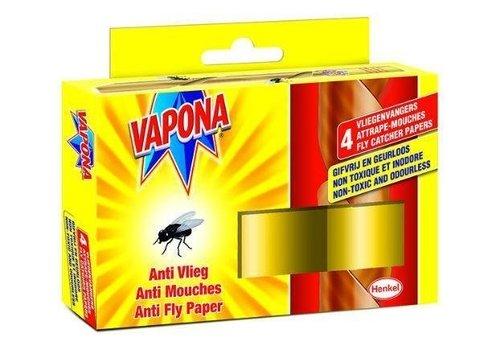 Vapona Anti vlieg 4 stuks
