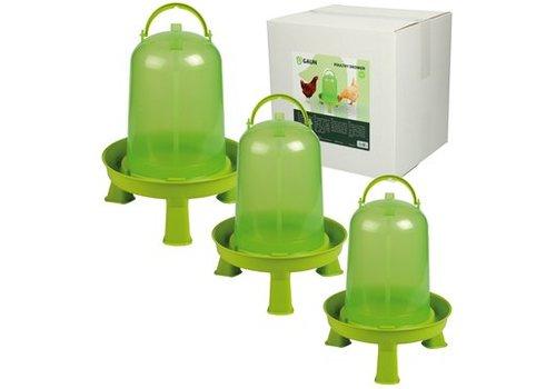 Gaun Drinktoren Lime groen met pootjes