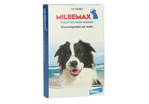Milbemax Hond Groot 5 - 75 kg