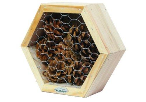 ECOstyle Insectenhotel voor lieveheersbeestjes & gaasvliegen