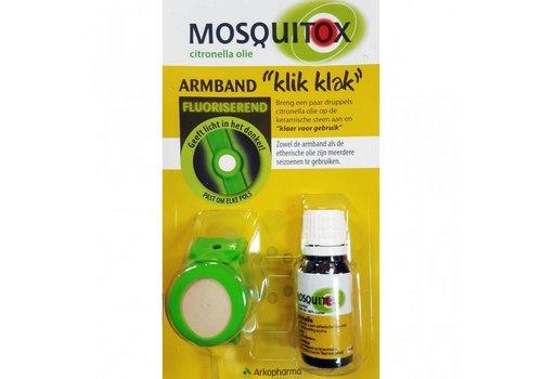 Arkopharma Mosquitox Armband Klik Klak Startset