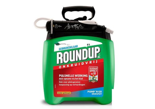 Monsanto Roundup Natural 5 liter pump'n go