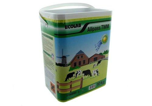 EcoLab AllPass Totaalwasmiddel P3 10KG