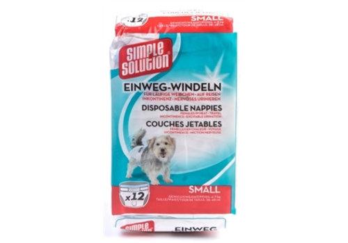 Simple solution Wegwerp-hondenluier - 12 stuks