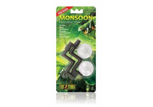 Exo Terra Monsoon Sproeikoppen 2ST