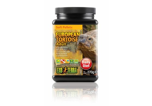 Exo Terra Soft Pellets Europese Schildpad