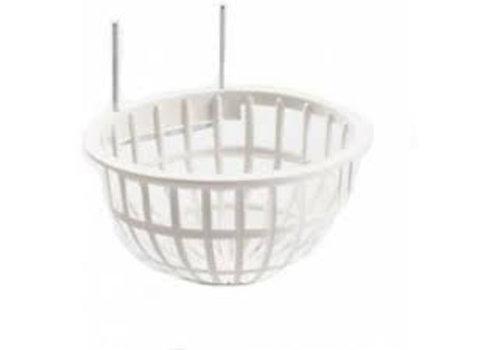 Duvo+ Nestje plastic open met metalen haak