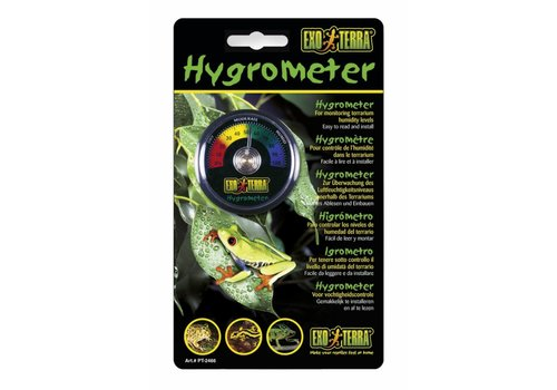 Exo Terra Rept-O-Meter Hygrometer