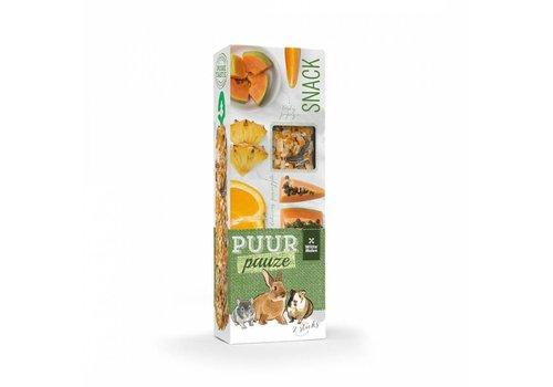 Witte Molen Puur pauze sticks sinaasappel & papaja 110 gram