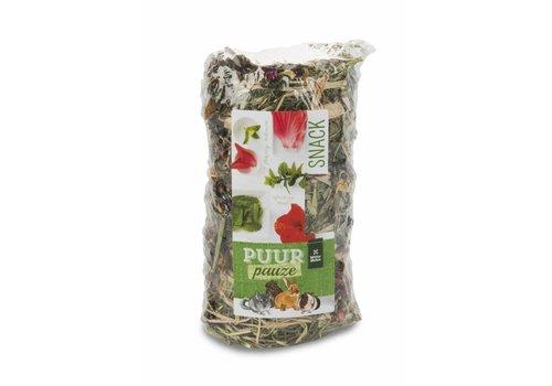 Witte Molen Puur pauze hooirol hibiscus & munt 200 gram