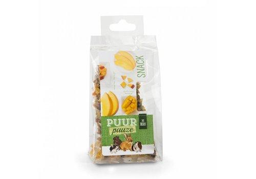 Witte Molen Puur pauze knabbelhoutjes mango 50 gram