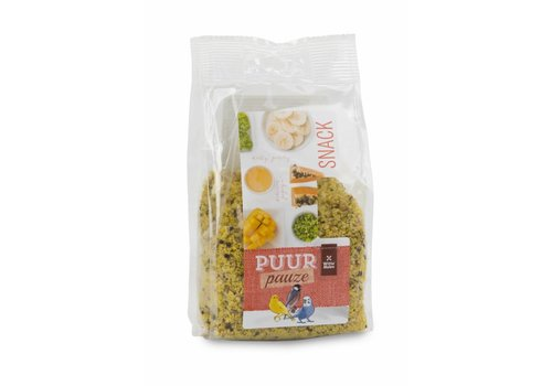 Witte Molen Puur pauze snack mix  fruit- & kruidencrumble