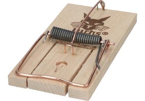 Luchs basis houten rattenklem