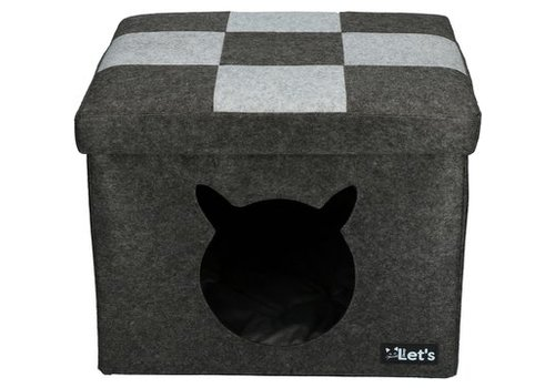 Let's Pet Cube kattenslaapplaats