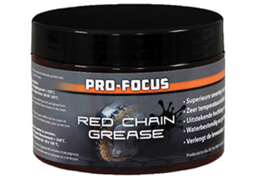 Pro-Focus Red Chain Grease